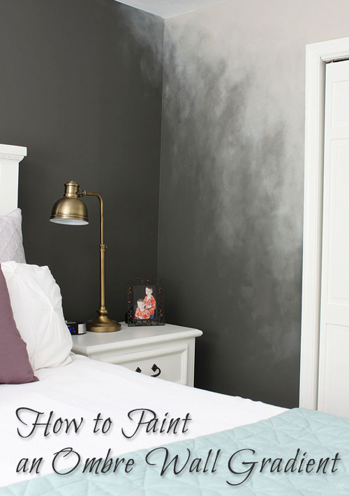 How To Paint An Ombré Wall Technique Pretty Handy Girl - Ombre wall painting technique