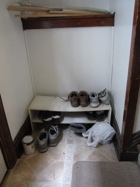 Before Building Shelves