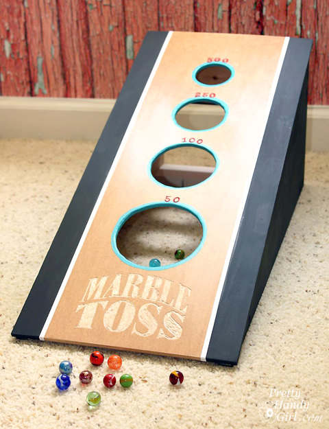 Marble-toss