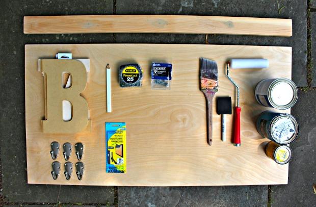 personalized wall shelf supplies