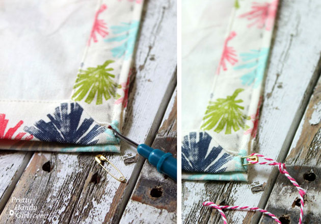 Sew Easy Anthropologie Cloth Napkin Gift Bags   Pretty Handy Girl