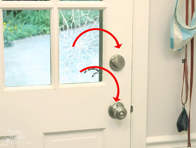 Install Security Film To A Glass Door And Protect Your Home Pretty