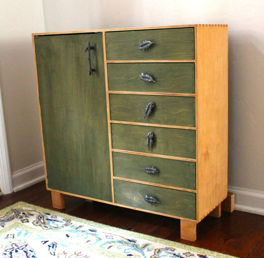 Rustic IKEA Hack Cabinet Transformation | Pretty Handy Girl
