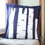 Birch Tree Pillow