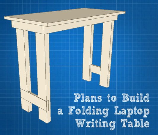 DIY Laptop Writing Desk Plans Plans Free