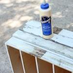 Rustic IKEA Hacked Cabinet
