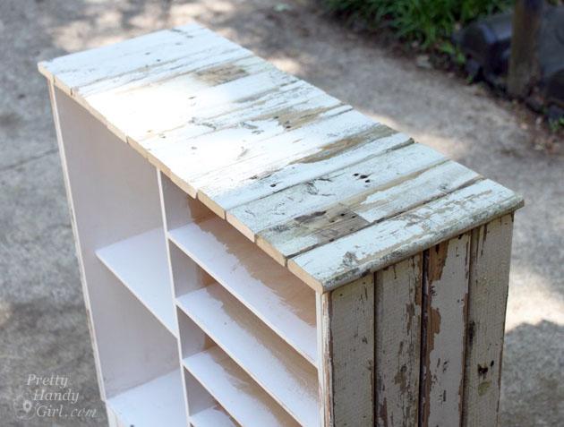 Rustic IKEA Hack Cabinet Transformation | Pretty Handy Girl