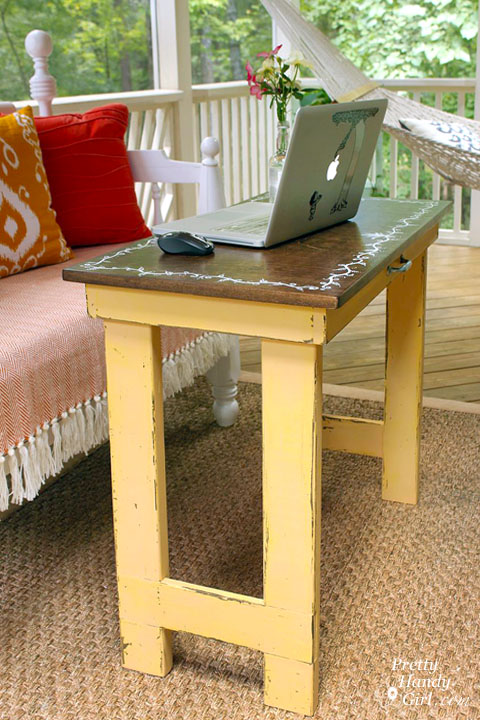 Folding Laptop Writing Desk | Pretty Handy Girl