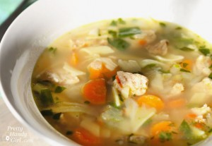 Gluten Free Chicken Noodle Soup | Pretty Handy Girl