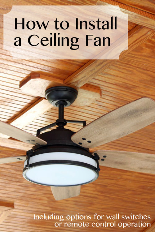 How to install a ceiling fan pretty handy girl how to install a ceiling fan pretty handy girl mozeypictures Choice Image