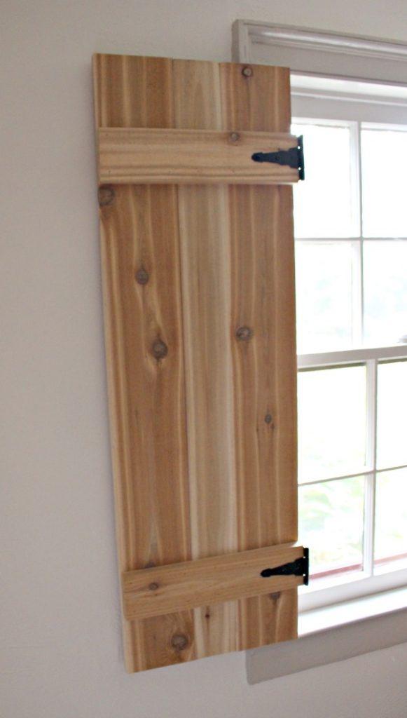 interior cedar shutters left