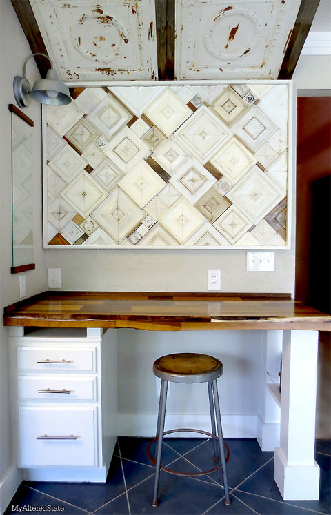 Kitchen Nook Art Installation
