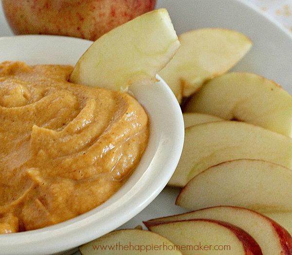 peanut butter pumpkin dip recipe fruit