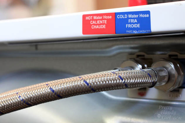 Replace Water Lines with Braided Metal Hoses
