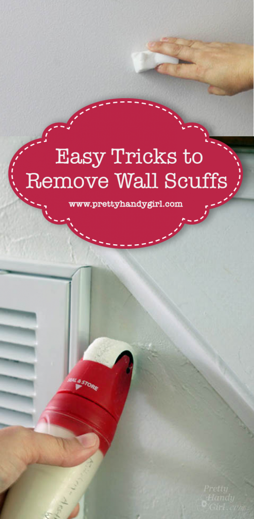 how to get out scuff marks on walls
