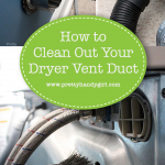 how to fix a dryer vent