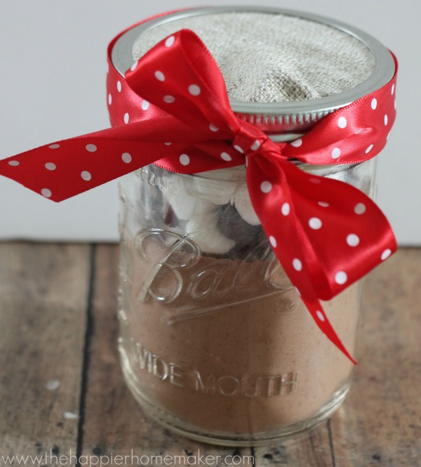 how to make hot cocoa in jar