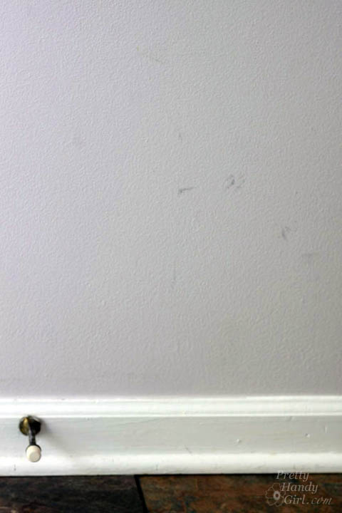 Easy Tricks to Remove Walls Scuffs | Pretty Handy Girl