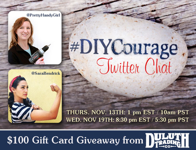 #DIYCourage Twitter Chat