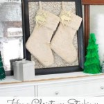 Hang Stockings Without a Mantel