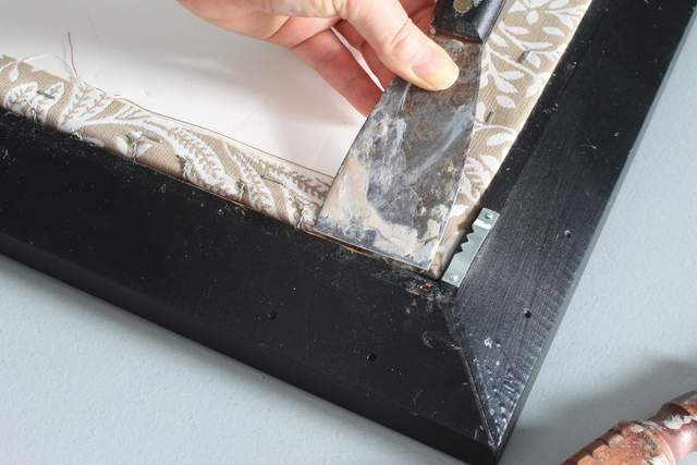 how to use glazier points window