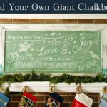 Build a Giant Vintage Chalkboard