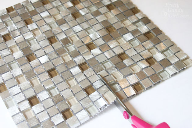 Make Your Own Mosaic Tile Lampshade Pretty Handy