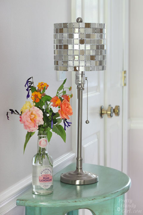 How To Make A Mosaic Tile Lamp Shade Lowes Creator