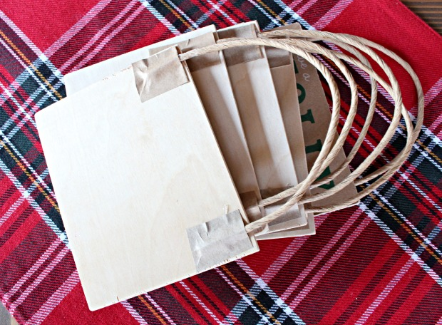 paper bag ornaments back
