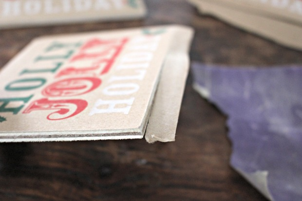 paper bag ornaments step 4