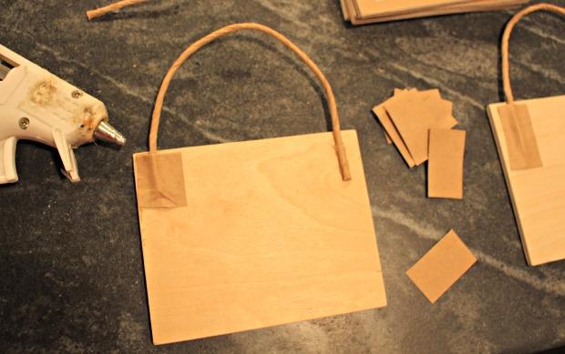 paper bag ornaments step 5