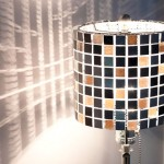 Make Your Own Mosaic Tile Lampshade   Pretty Handy Girl