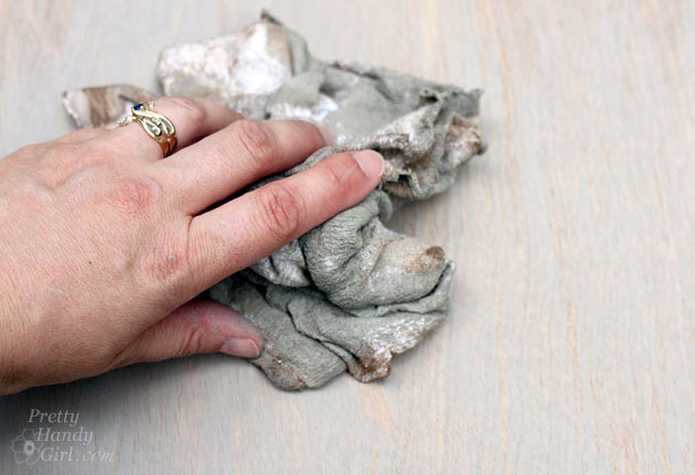Gray Restoration Hardware Stain Recipe | Pretty Handy Girl