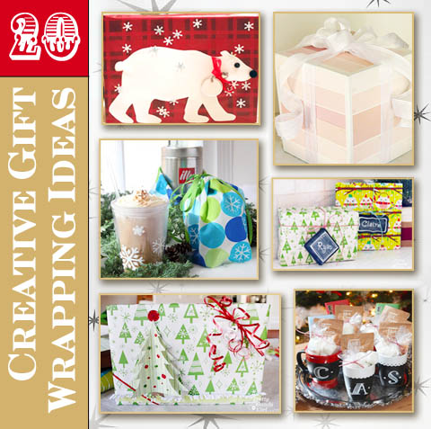 20 Creative Gift Wrapping Ideas | Pretty Handy Girl