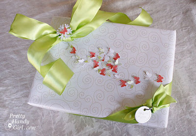 Clustered Butterfly Gift Wrap