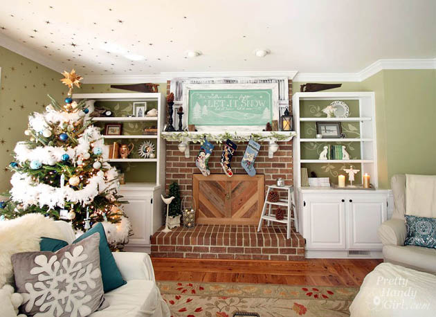 Pretty Handy Girl's Holiday Home Tour 2014
