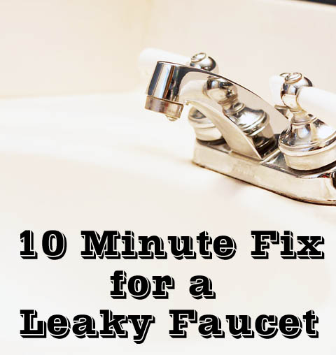 Fixing A Leaky Bathroom Sink Faucet - Home Design - Game-hay.us