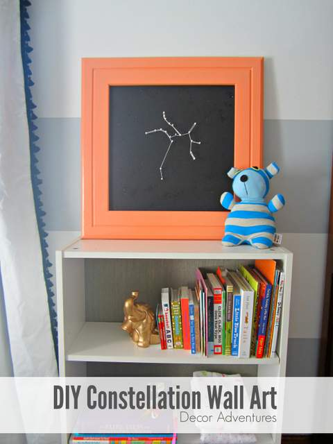 DIY Constellation Wall Art