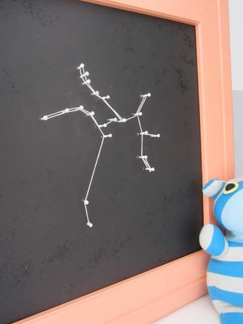 DIY Constellation Wall Art