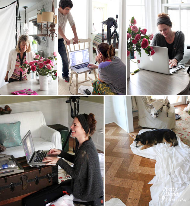 Better Homes and Gardens Photoshoot