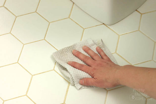 How to Clean a Stinky Bathroom as if a Magazine Photographer was coming | Pretty Handy Girl