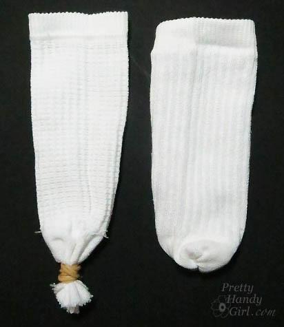 Cute Sock Snowmen   Pretty Handy Girl