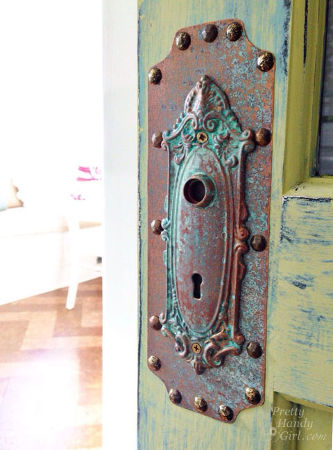Create Inexpensive Faux Copper Patina