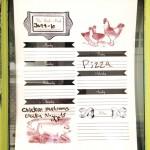 Family Organization Door | Pretty Handy Girl
