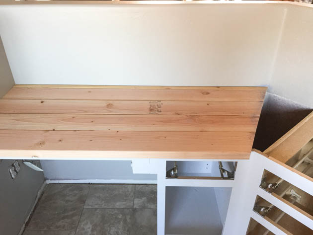 Build A Wood Plank Desktop For About $40 | Pretty Handy Girl | Bloglovinu0027
