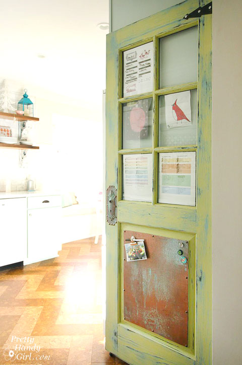 Family Organization Door | Pretty Handy Girl