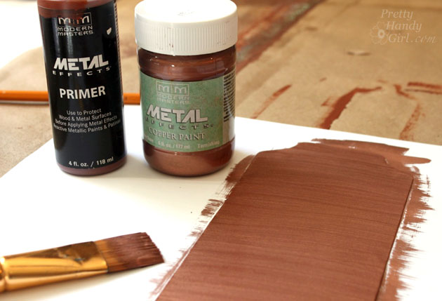 Inexpensive Faux Copper And Patina