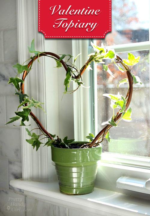 Heart Shaped Topiary   Pretty Handy Girl