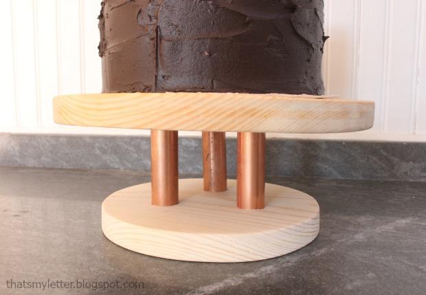 wood cake stand 1