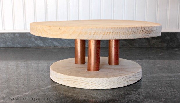 wood cake stand 2
